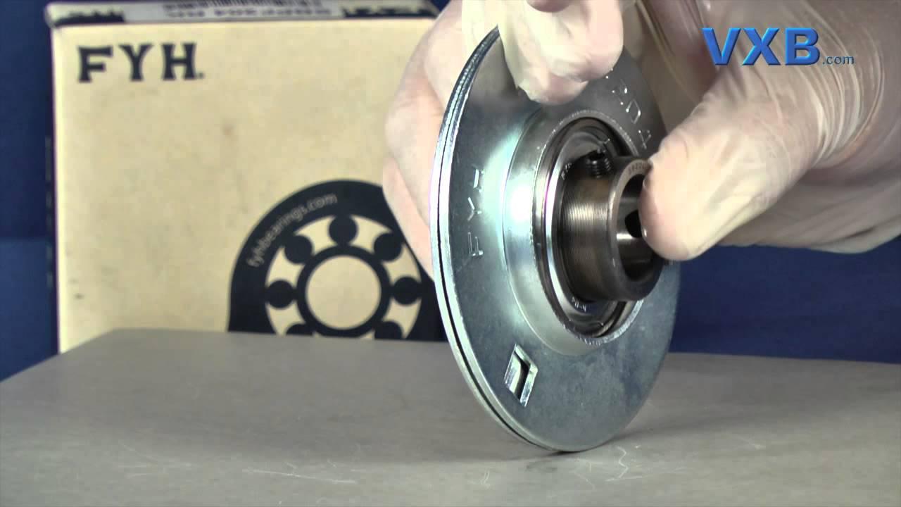 Stamped Steel Flanges : Fyh sbpf mm stamped steel round three bolt flanged