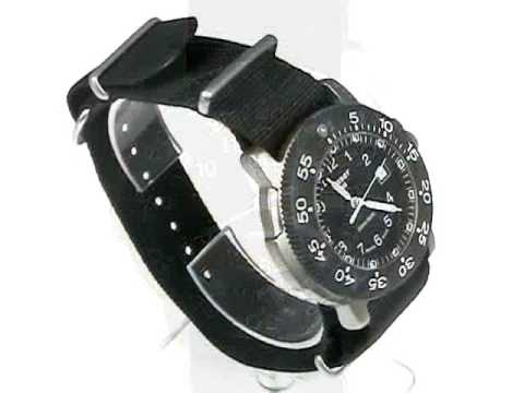 Traser H3 P 6506 Commander 100 Titanium Tritium watch -  www.LuminousWatchShop.com - YouTube 28ea6531c7c