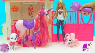Barbie is going to petsit some very royal pets. Check out these ama...