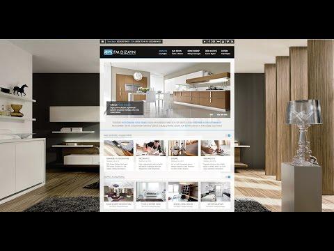 Photoshop İle Web Sitesi Nasıl Yapılır? | Photoshop Web Tasarımı | Web Design