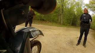 Police Academy-Traffic Stops 101 (What NOT to do) on Berkshire Adventure Ride - May 18, 2013