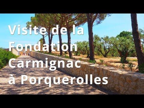 Visite de la Fondation Carmignac à Porquerolles