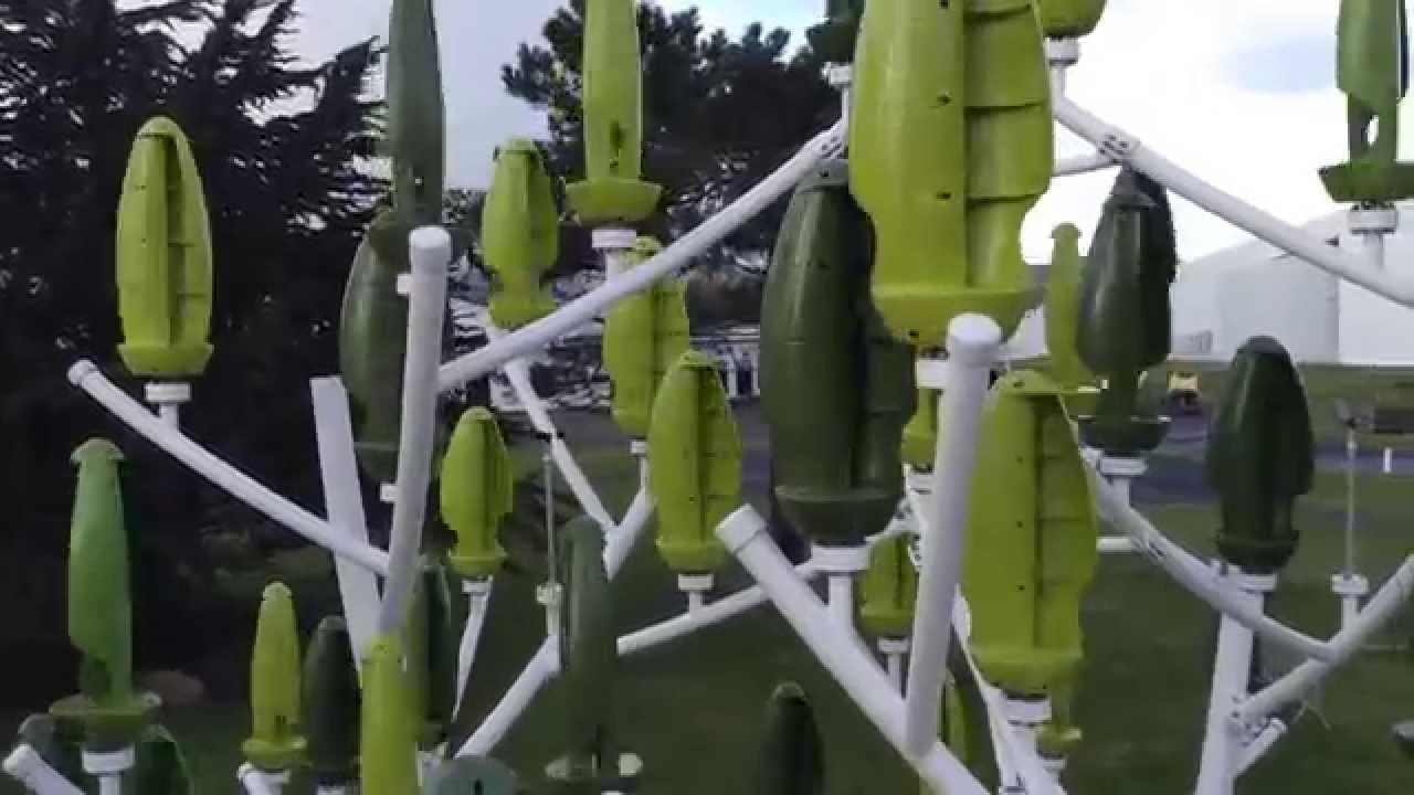 Perch dans les branches de l 39 arbre vent youtube - Mini eolienne verticale ...