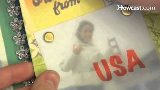 How to Use Scrapbooking Brads