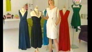 Butter by Nadia Wrap Dress on TV3s Xpose