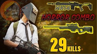 Horror Combo in Pubg mobile || You should try once || Predator gameplay