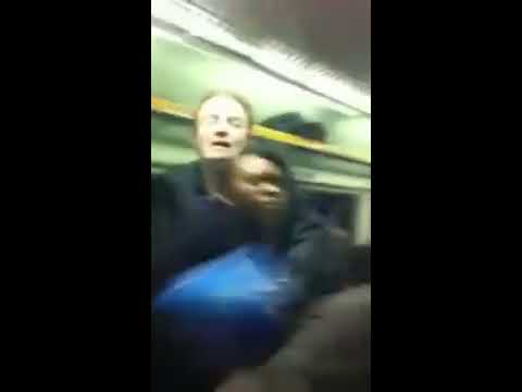South London Girls batter each other on Rush Hour Train to Mitcham