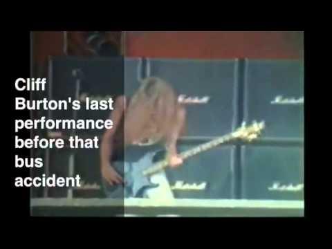 Cliff Burton's last performance