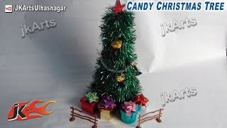 How To: Diy Candy Christmas Tree (easy Craft For Kids) - Jk Arts 433