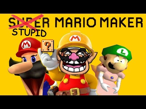 Thumbnail: Retarded64: Stupid Mario Maker