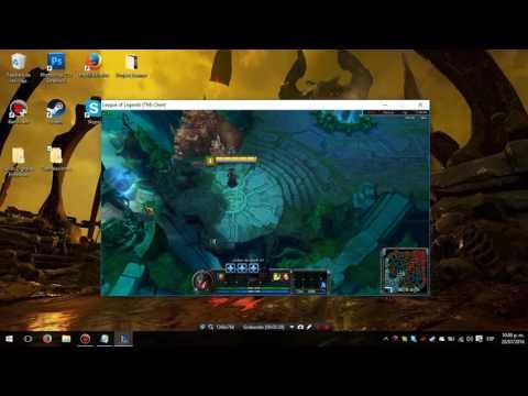 Jugar League of Legends en Ventana Parche 6.15