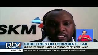 KRA issues public notice on corporate tax compliance