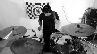 Guts Over Fear Drum Cover By AALProductions