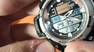 Обзор Casio SGW-400H