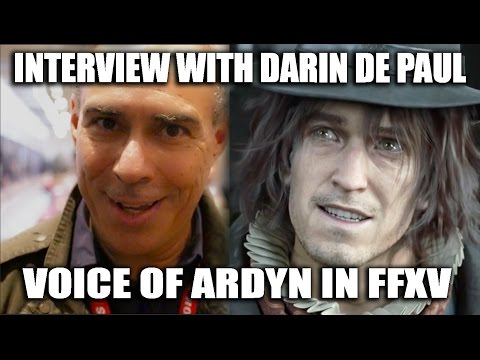 FINAL FANTASY XV: Interview with Ardyn Izunia - Darin De Paul