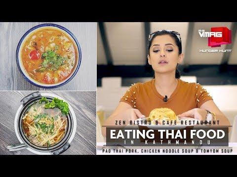Thai Food Special At Zen Bistro & Cafe Restaurant