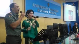 Pangdam VII Wirabuana Feat Bella Saphira Lantunkan
