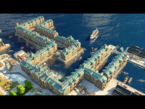 NEW -  ANNO 1800 DLC | Season 3 Docklands | Anno 1800 Season 3 Update DLC Gameplay
