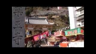 2013年 四国第23番札所 医王山無量寿院薬王寺.