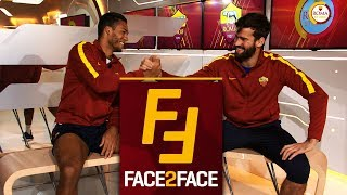Face 2 Face: Alisson And Juan Jesus Interview Each Other!