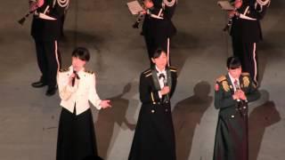 【2015自衛隊音楽まつり】歌姫3人の共演  /  全出演部隊大合唱 『道』 Road thumbnail