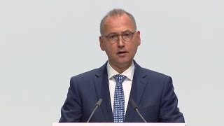 Speech excerpts Werner Baumann AGM 2019