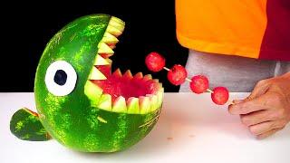 9 Watermelon LifeHacks aฑd Party Tricks!