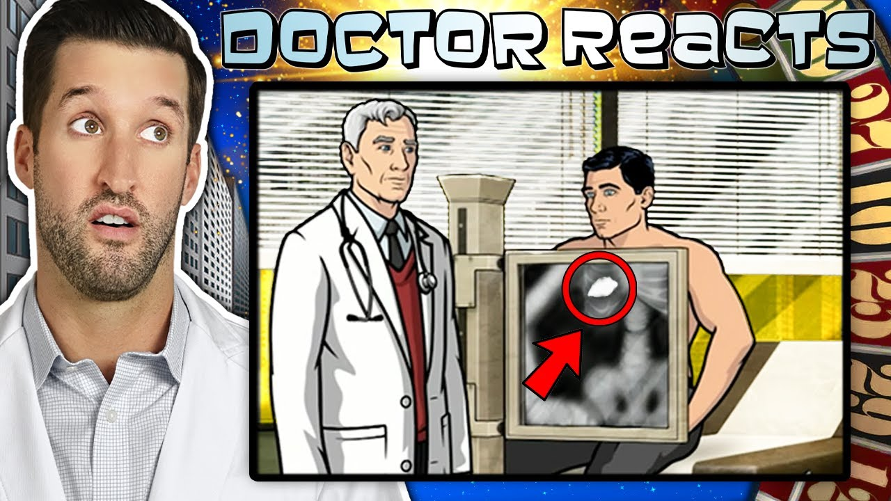 ER Doctor REACTS to Funniest Archer Medical Scenes