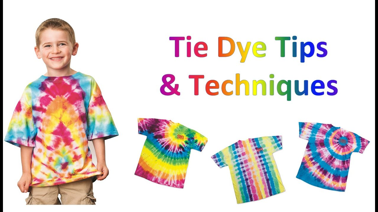 Tricks And Tips For Tie Dying