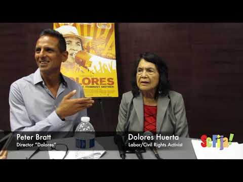 Activist Dolores Huerta, Director Peter Bratt on Dolores Documentary