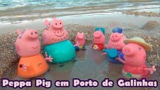Peppa Pig na praia - Porto de Galinhas PE  #PeppaPig #EuamoaPeppaPig