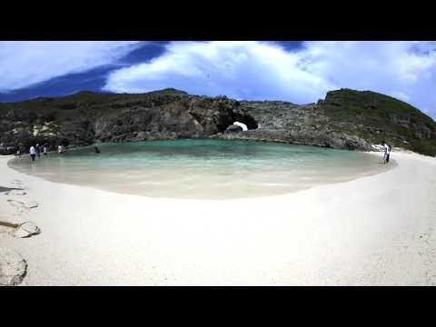 """360° The hidden Island of Ogasawara Islands """"Minamijima Island"""""""