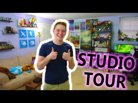 My Nintendo Gaming YouTube Studio Tour!!! [2018]
