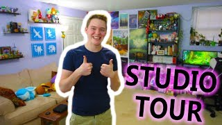 My Nintendo Gaming YouTube Studio Tour!!! [2018]