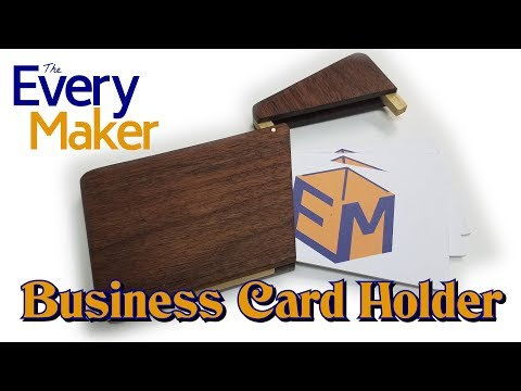 how-to-make-a-wooden-business-card-holder