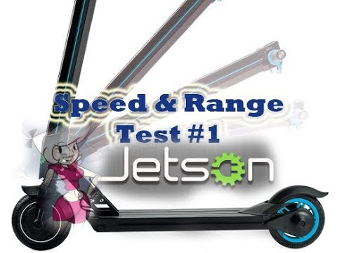 jetson beam electric folding scooter real world test 1. Black Bedroom Furniture Sets. Home Design Ideas