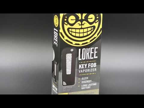 Lokee Vape Key Fob Vaporizer - YouTube