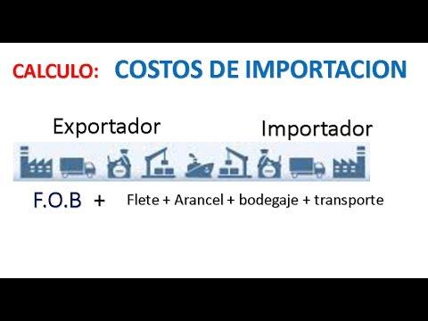 Como calcular los costos de importacion
