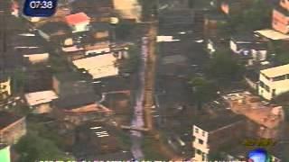 Policiais civis e militares fazem mega operação em Tancredo Neves