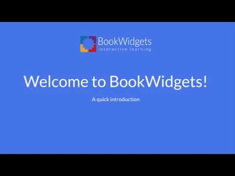 How to create your own interactive digital lessons with BookWidgets
