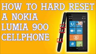 How To Hard Reset A Nokia Lumia 900 Forgot Password