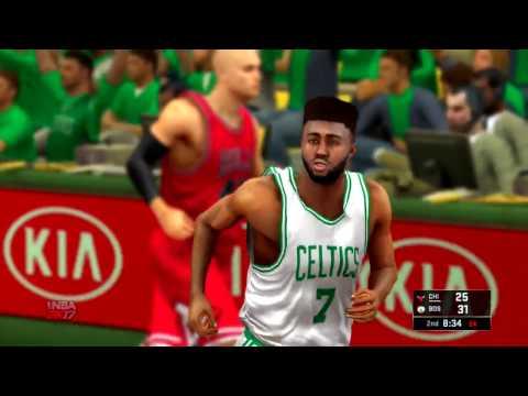 NBA 2K17 2017 NBA Playoffs Game 1 Round 1 Chicago Bulls vs Boston Celtics
