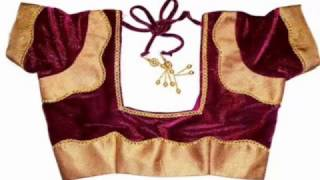 Top 20 blouse back neck blouse designs