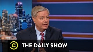 The Daily Show - Lindsey Graham - The Senator Picks His Poison: Ted Cruz vs. Donald Trump