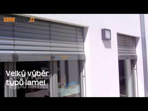 Video Venkovní žaluzie Praha