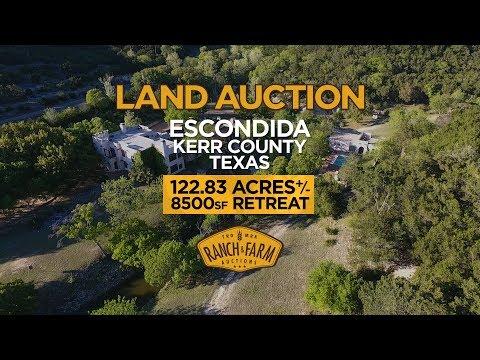 Medina, TX Retreat Auction | Williams Auction