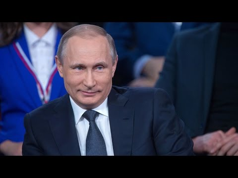 Thumbnail: Putin shows German skills, unexpectedly steps in as translator at forum
