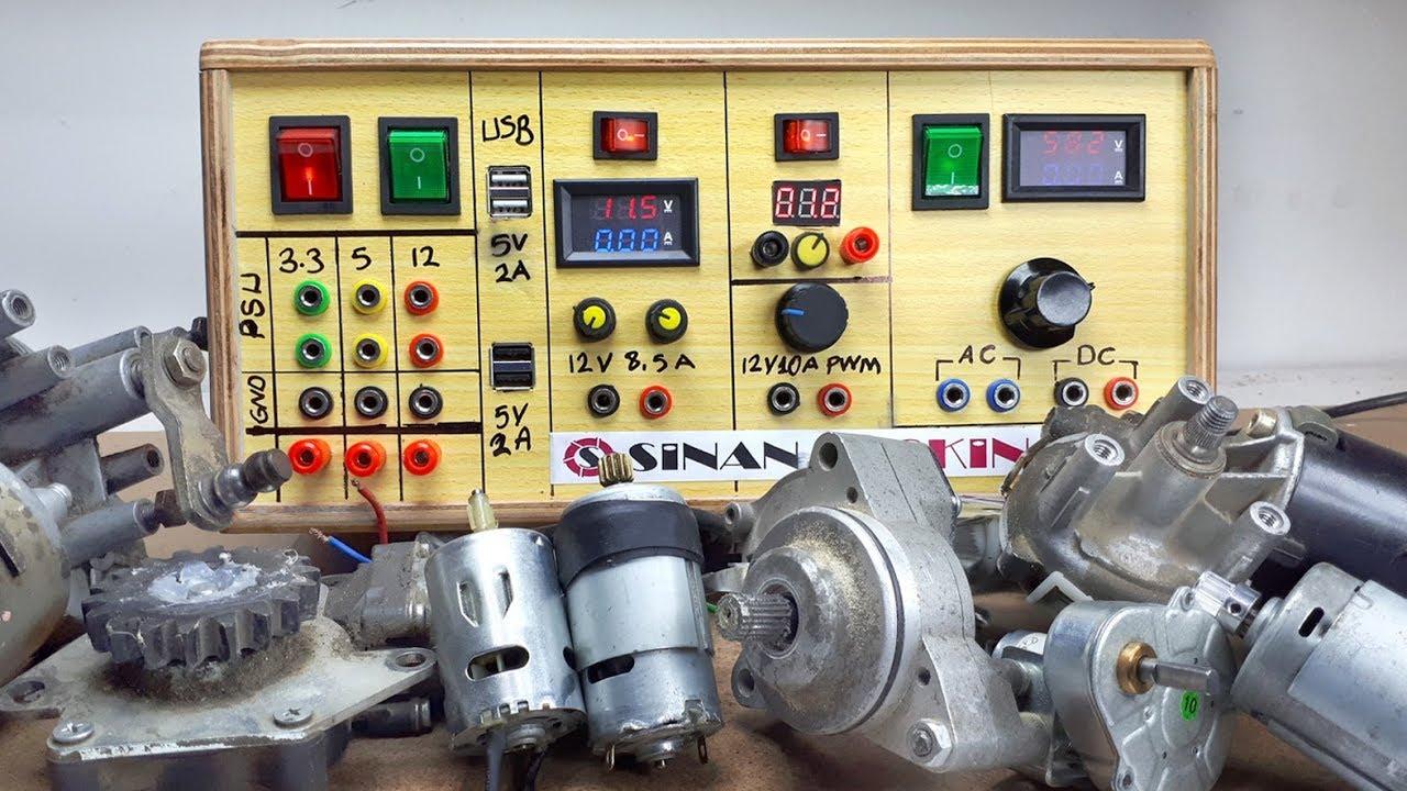 Diy Multi Variable Lab Bench Power Supply Ayarlanabilir