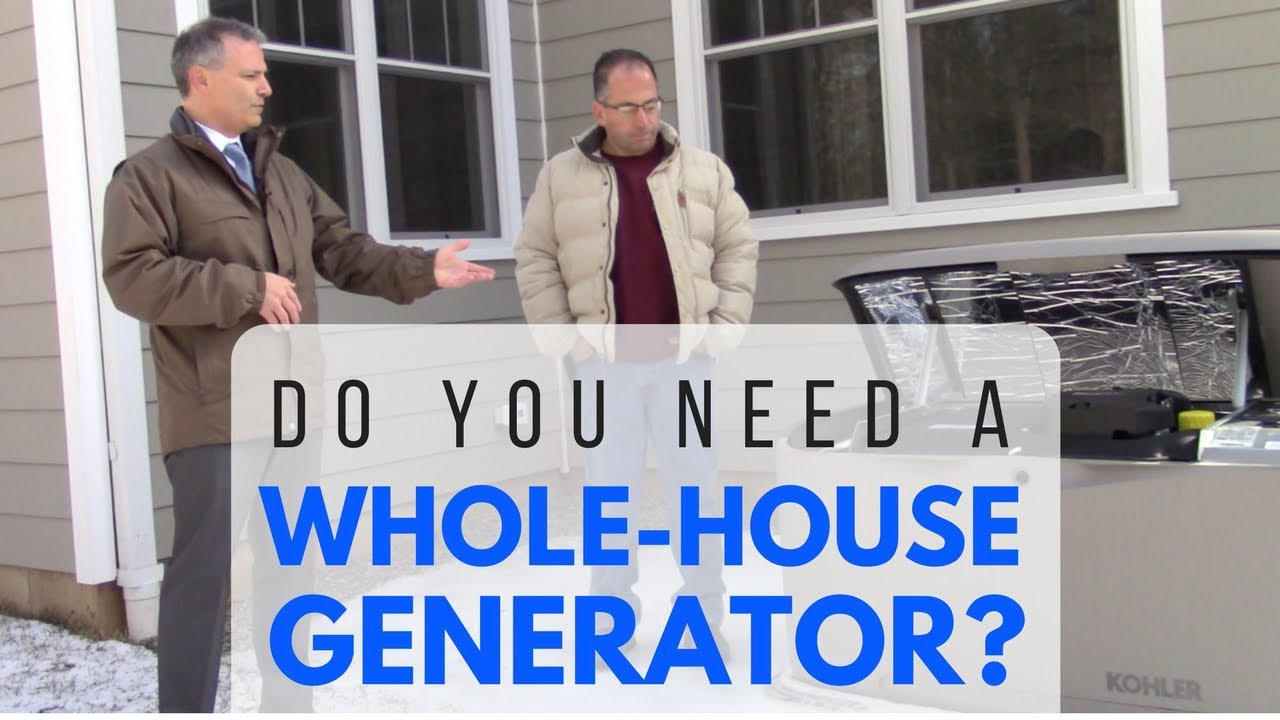 Do You Need A Whole House Generator in NJ | Call 973-887-2500