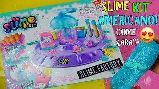 PROVO SLIME KIT AMERICANO (SLIME FACTORY) COME SARA'? Iolanda Sweets